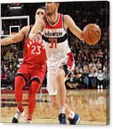 Washington Wizards V Toronto Raptors Canvas Print