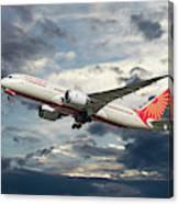 Air India Boeing 787-8 Dreamliner Canvas Print