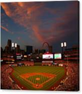 Atlanta Braves V St Louis Cardinals Canvas Print
