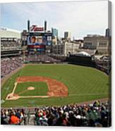 Baltimore Orioles V. Detroit Tigers Canvas Print