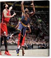 Chicago Bulls V Cleveland Cavaliers 8 Canvas Print