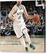 Detroit Pistons V Milwaukee Bucks - Canvas Print