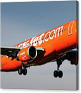 Easyjet 200th Airbus Livery Airbus A320-214 Canvas Print