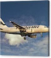 Finnair Airbus A319-112 Canvas Print