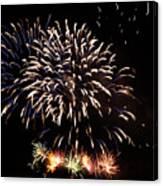 Firework Display Canvas Print