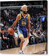 Golden State Warriors V Memphis Canvas Print