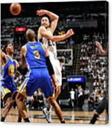 Golden State Warriors V San Antonio Canvas Print