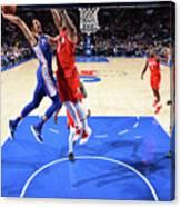 Houston Rockets V Philadelphia 76ers Canvas Print