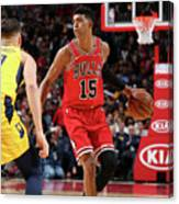 Indiana Pacers V Chicago Bulls Canvas Print