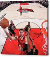 Milwaukee Bucks V Portland Trail Blazers Canvas Print