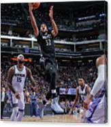Minnesota Timberwolves V Sacramento Canvas Print