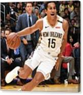New Orleans Pelicans V Los Angeles Canvas Print