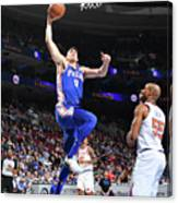 Philadelphia 76ers V New York Knicks Canvas Print