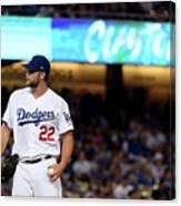 San Diego Padres V Los Angeles Dodgers 8 Canvas Print