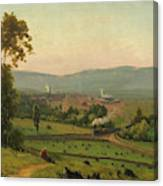 The Lackawanna Valley Canvas Print