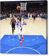 Toronto Raptors V Philadelphia 76ers Canvas Print