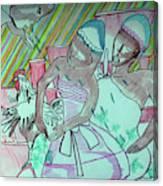 Kintu And Nambi Folktale Canvas Print