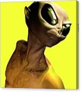 Alien, Artwork Canvas Print