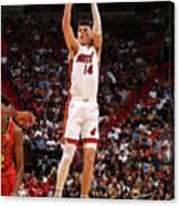 Atlanta Hawks V Miami Heat Canvas Print
