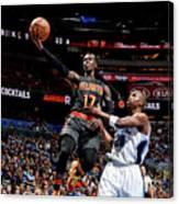 Atlanta Hawks V Orlando Magic Canvas Print
