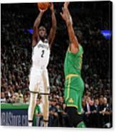 Brooklyn Nets V Boston Celtics Canvas Print