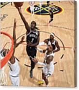 Brooklyn Nets V Denver Nuggets Canvas Print