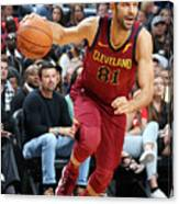 Cleveland Cavaliers V New Orleans Canvas Print