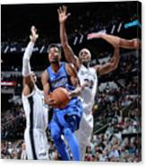 Dallas Mavericks V San Antonio Spurs Canvas Print