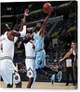 Denver Nuggets V Memphis Grizzlies Canvas Print