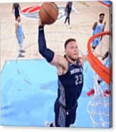 Detroit Pistons V Sacramento Kings Canvas Print