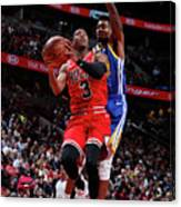 Golden State Warriors V Chicago Bulls Canvas Print