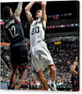 Houston Rockets V San Antonio Spurs - Canvas Print