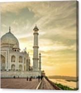 India, Uttar Pradesh Canvas Print