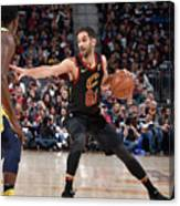 Indiana Pacers V Cleveland Cavaliers - Canvas Print