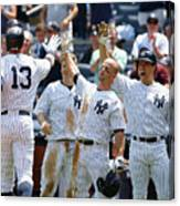 Kansas City Royals V New York Yankees Canvas Print