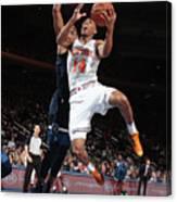 Minnesota Timberwolves V New York Knicks Canvas Print