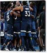 Minnesota Timberwolves V Oklahoma City Canvas Print