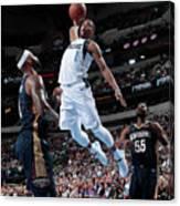 New Orleans Pelicans V Dallas Mavericks Canvas Print