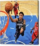 New Orleans Pelicans V Orlando Magic Canvas Print
