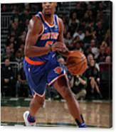 New York Knicks V Milwaukee Bucks Canvas Print