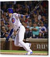 New York Mets V Chicago Cubs 9 Canvas Print