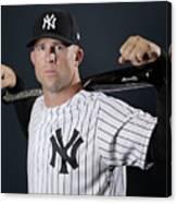 New York Yankees Photo Day 9 Canvas Print