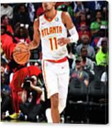 Philadelphia 76ers V Atlanta Hawks Canvas Print