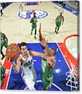 Philadelphia 76ers V Boston Celtics Canvas Print