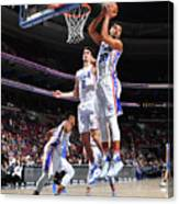 Philadelphia 76ers V Orlando Magic Canvas Print
