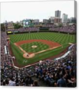 Philadelphia Phillies V Chicago Cubs Canvas Print