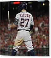 World Series - Houston Astros V Canvas Print