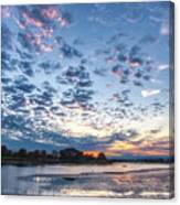 Danvers River Sunset Canvas Print