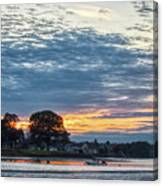 Danvers River Sunset Canvas Print