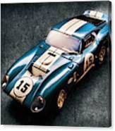 A Daytona Classic Canvas Print